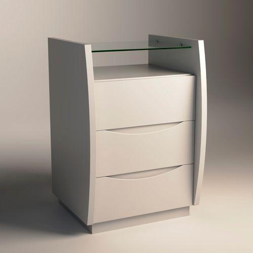 Mesa-de-Cabeceira-Atila-40cm-Branco-com-tampo-de-vidro