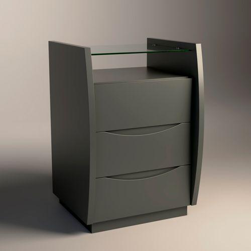 Mesa-de-Cabeceira-Atila-40cm-Cemento-com-tampo-de-vidro