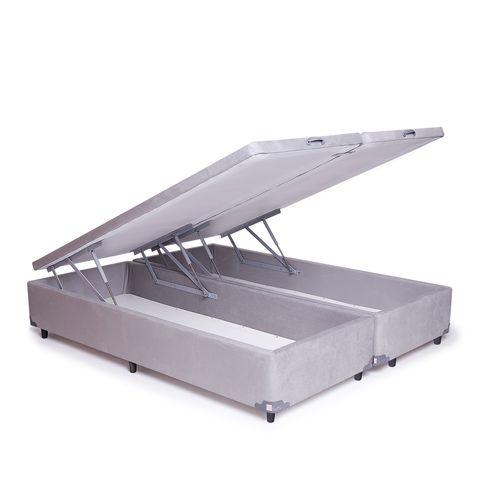 Box-com-Bau-Premium-Suede-Cinza-Claro-King-Nacional--E-