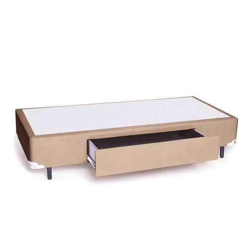 Box-com-Gaveta-Suede-Chocolate-Solteiro-King